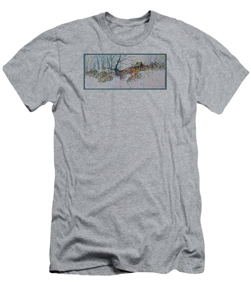 Deserted Clearing Men's T-Shirt (Slim Fit) by Carolyn Rosenberger