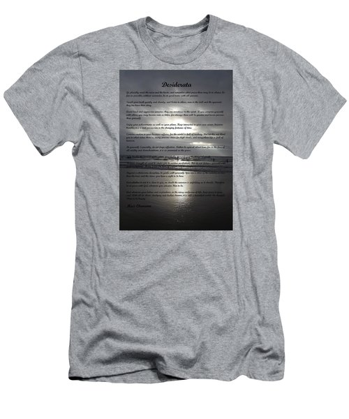 Desiderata 12 Men's T-Shirt (Athletic Fit)