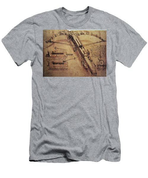 Design For A Giant Crossbow Men's T-Shirt (Athletic Fit)