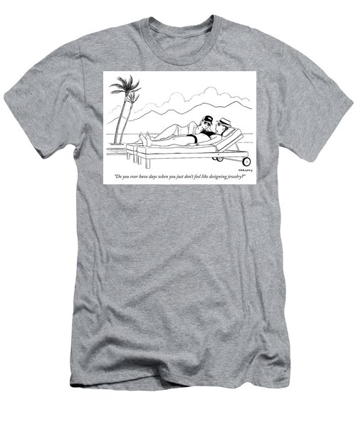 Designing Jewelry Men's T-Shirt (Athletic Fit)