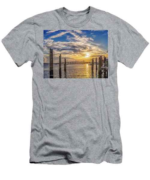 Destin Harbor #1 Men's T-Shirt (Athletic Fit)