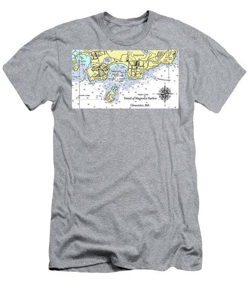 Detail Of Magnolia Harbor Men's T-Shirt (Athletic Fit)