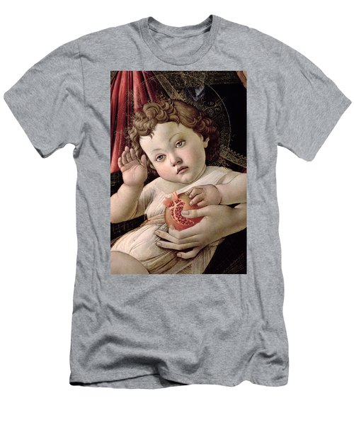 Detail Of The Christ Child From The Madonna Of The Pomegranate  Men's T-Shirt (Athletic Fit)