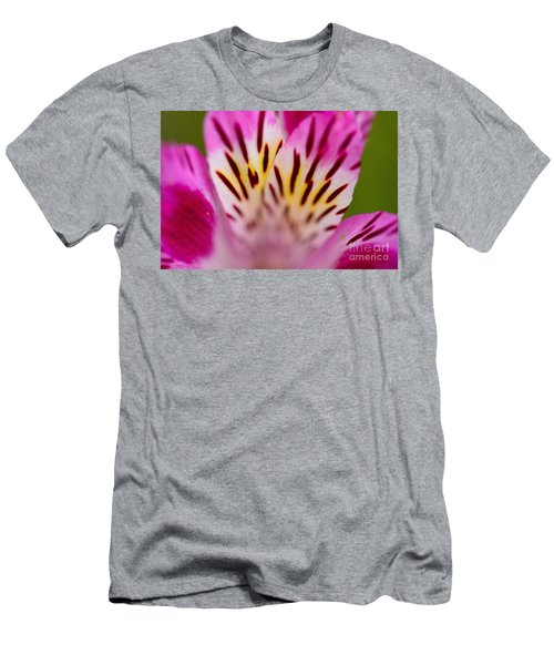 Men's T-Shirt (Athletic Fit) featuring the photograph Details In Pink  by John F Tsumas