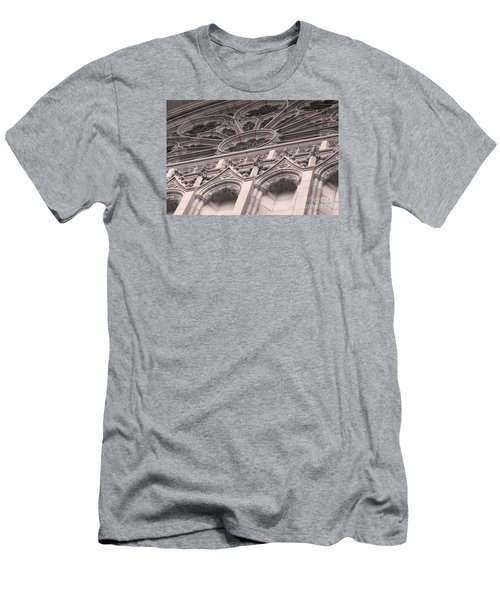 Details Of The National Cathedral Men's T-Shirt (Slim Fit) by John S