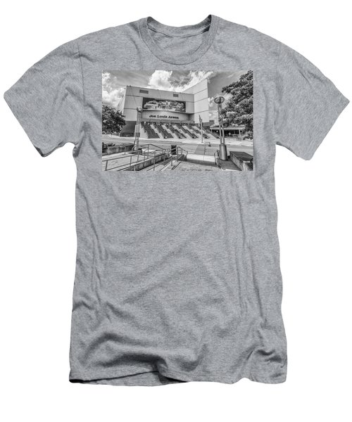Detroit Joe Louis Arena Front  Men's T-Shirt (Athletic Fit)