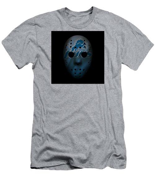 Detroit Lions War Mask 2 Men's T-Shirt (Athletic Fit)