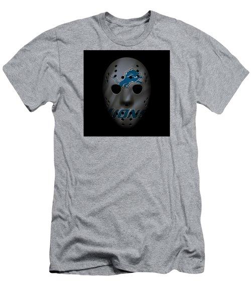 Detroit Lions War Mask 3 Men's T-Shirt (Athletic Fit)
