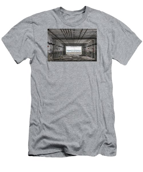 Detroit Packard Plant  Men's T-Shirt (Athletic Fit)