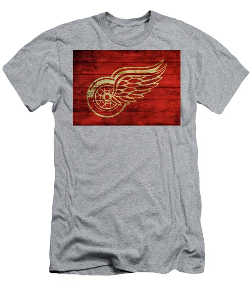 Detroit Redwings Barn Door Men's T-Shirt (Athletic Fit)