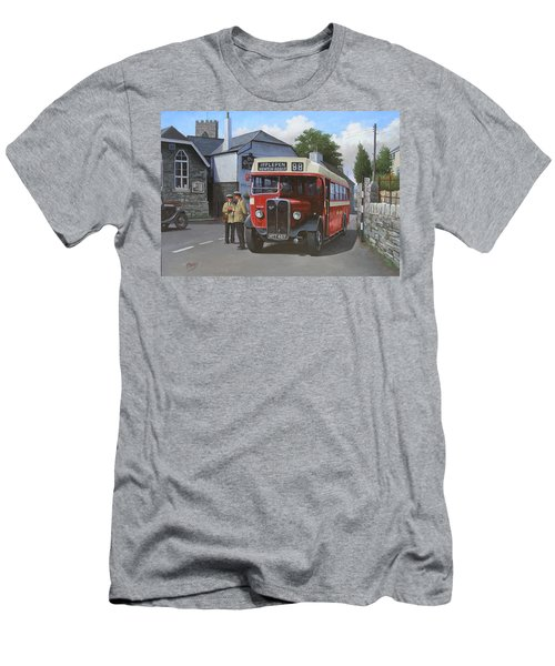 Devon General Aec Regal. Men's T-Shirt (Athletic Fit)