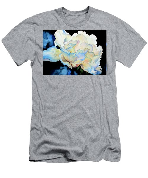 Dew Drops On Peony Men's T-Shirt (Athletic Fit)