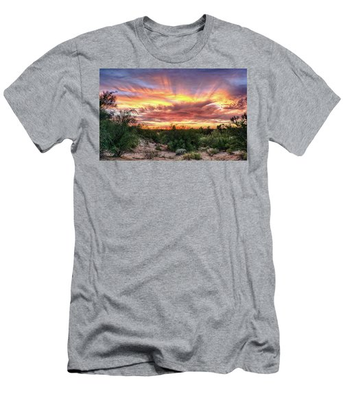 Diamond Sky Men's T-Shirt (Athletic Fit)