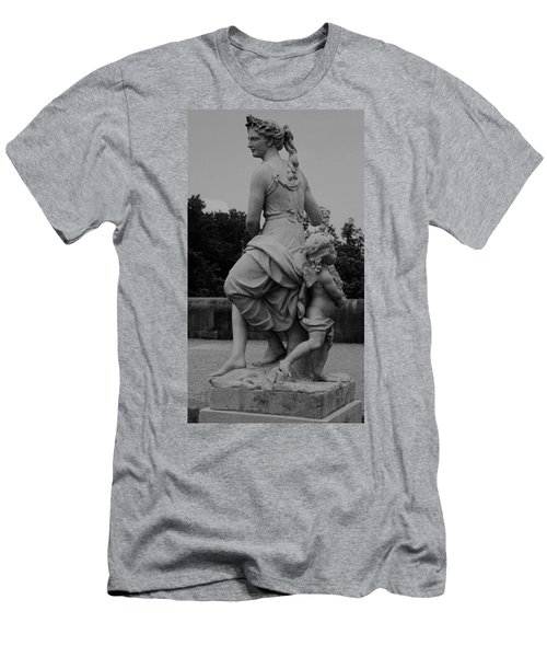 Men's T-Shirt (Slim Fit) featuring the painting Diana by Eric  Schiabor