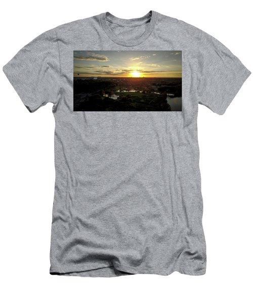 Disney Sunset Men's T-Shirt (Athletic Fit)