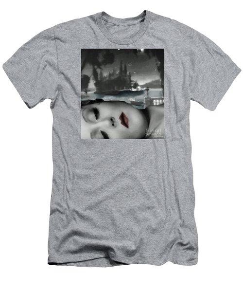 Distant Dreams Men's T-Shirt (Slim Fit) by Lyric Lucas