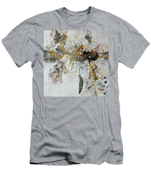 Men's T-Shirt (Slim Fit) featuring the painting Diversity by Joanne Smoley