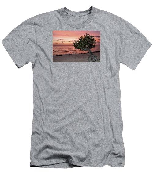 Divi Divi Aruba Men's T-Shirt (Athletic Fit)