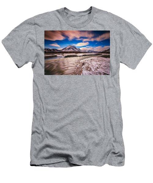 Divide Mountain Men's T-Shirt (Athletic Fit)