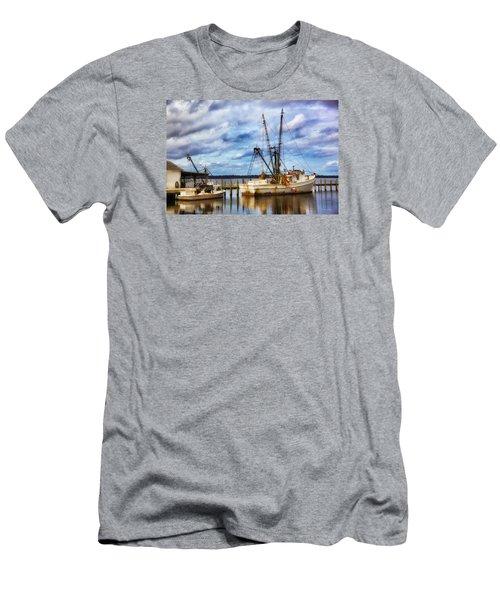 Dockside Men's T-Shirt (Slim Fit) by Denis Lemay