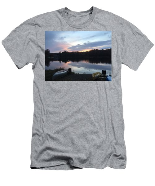 Dockside Pastels Men's T-Shirt (Slim Fit) by Jason Nicholas