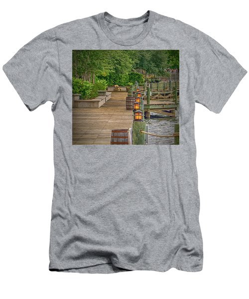 Down By The Boardwalk Men's T-Shirt (Athletic Fit)