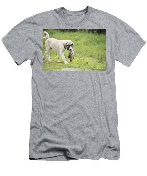 Dog Gone Fishing Men's T-Shirt (Athletic Fit)
