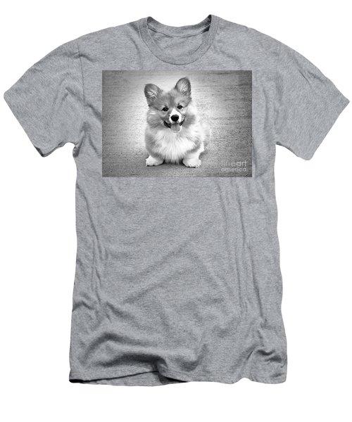 Puppy - Monochrome 6 Men's T-Shirt (Athletic Fit)