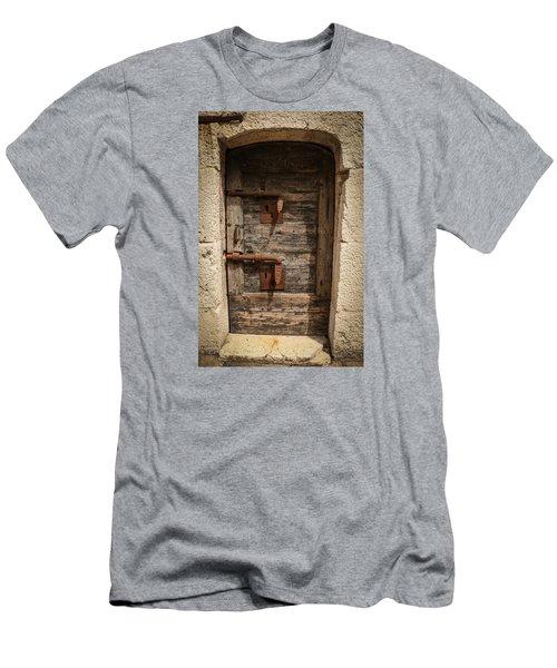 Men's T-Shirt (Slim Fit) featuring the photograph Doge's Jail Door by Kathleen Scanlan