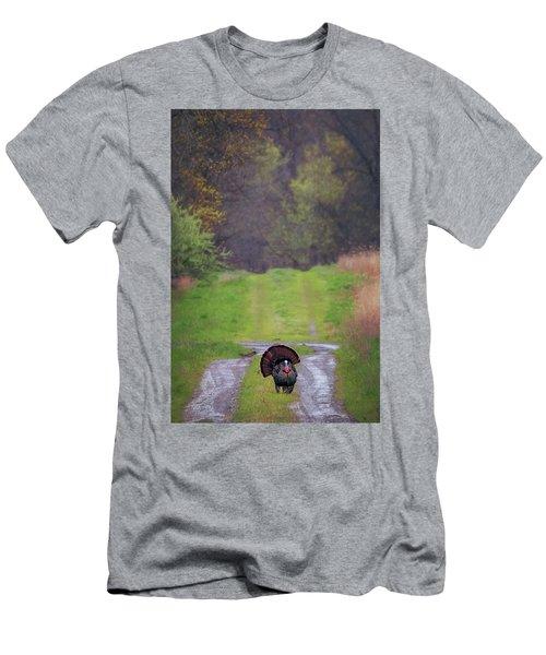 Doing The Turkey Strut Men's T-Shirt (Athletic Fit)