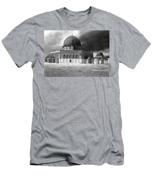 Dome Of The Rock - Jerusalem Men's T-Shirt (Athletic Fit)