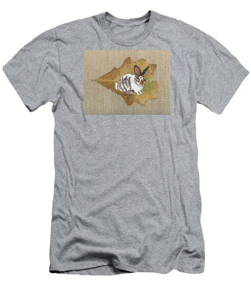 domestic Rabbit Men's T-Shirt (Slim Fit) by Ralph Root