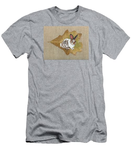 domestic Rabbit Men's T-Shirt (Athletic Fit)