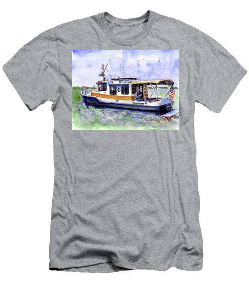 Don And Kathys Boat Men's T-Shirt (Athletic Fit)