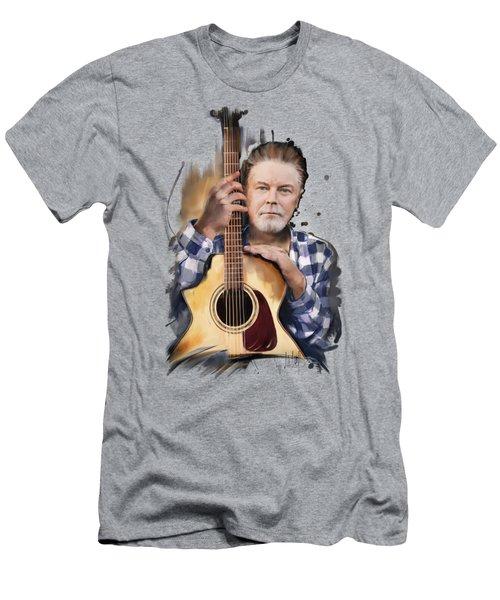 Don Henley Men's T-Shirt (Slim Fit) by Melanie D
