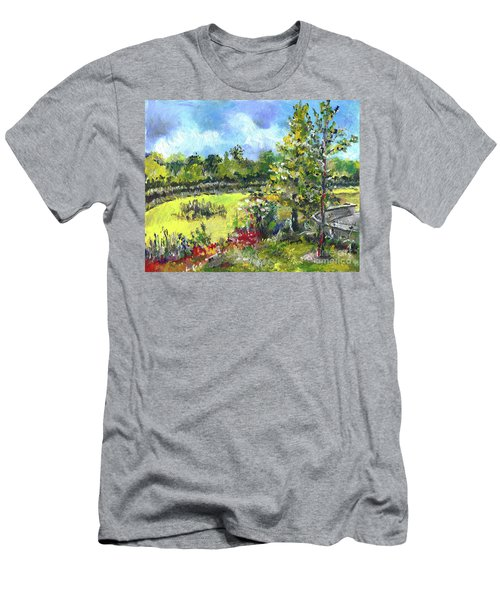 Don T Forget The Wall Men's T-Shirt (Athletic Fit)