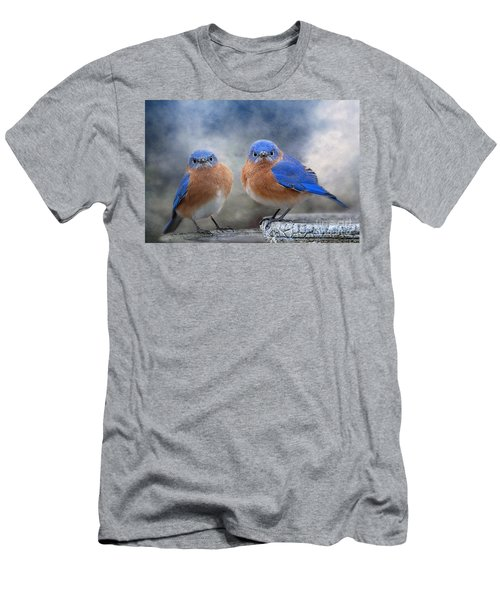Men's T-Shirt (Slim Fit) featuring the photograph Don't Ruffle My Feathers by Bonnie Barry