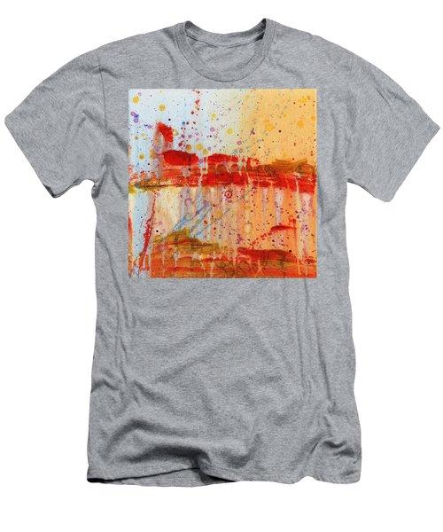 Doobie Brothers Men's T-Shirt (Slim Fit) by Phil Strang