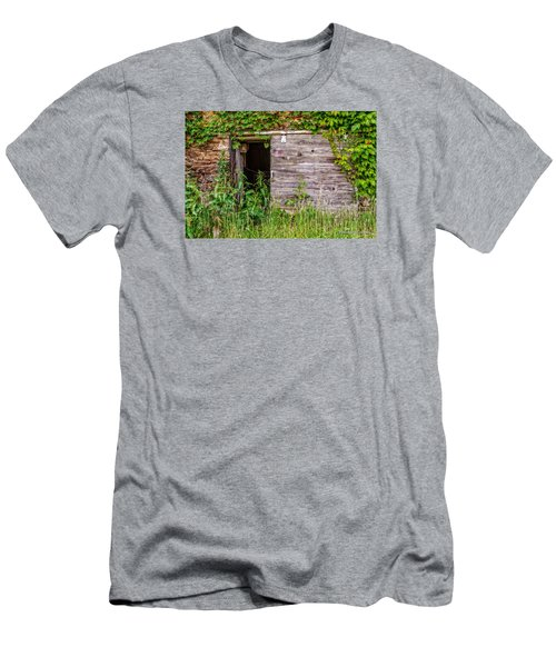 Men's T-Shirt (Slim Fit) featuring the photograph Door Ajar by Christopher Holmes