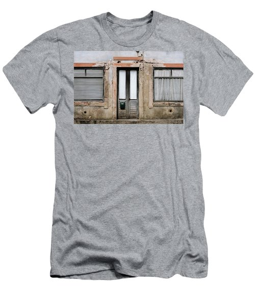 Men's T-Shirt (Slim Fit) featuring the photograph Door No 128 by Marco Oliveira