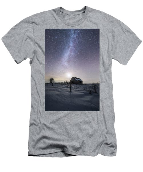 Men's T-Shirt (Slim Fit) featuring the photograph Dormant by Aaron J Groen