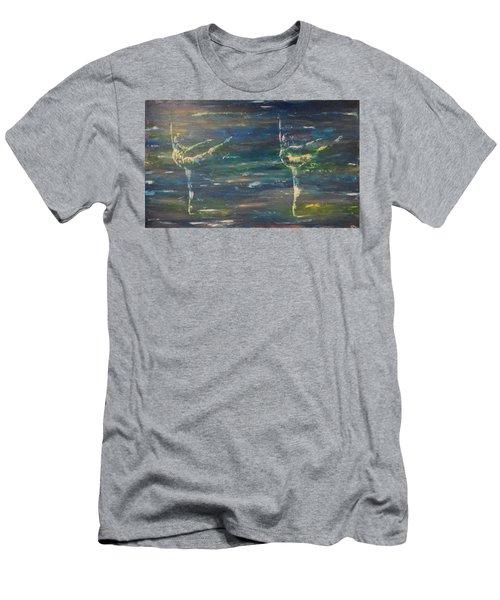Double Arabesque Men's T-Shirt (Athletic Fit)