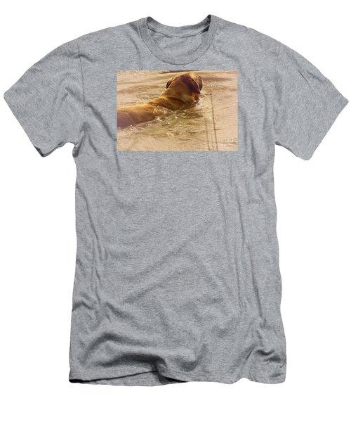 Double Coat Men's T-Shirt (Athletic Fit)
