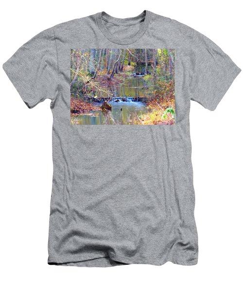 Double Falls Men's T-Shirt (Athletic Fit)