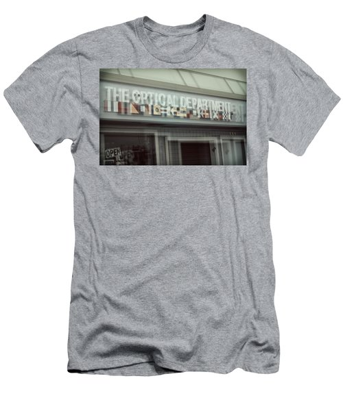 Men's T-Shirt (Athletic Fit) featuring the photograph Double Vision by Michael Hope