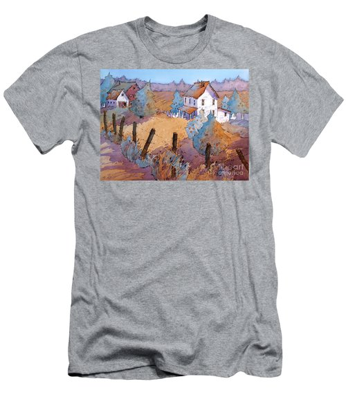 Down A Country Road Men's T-Shirt (Athletic Fit)