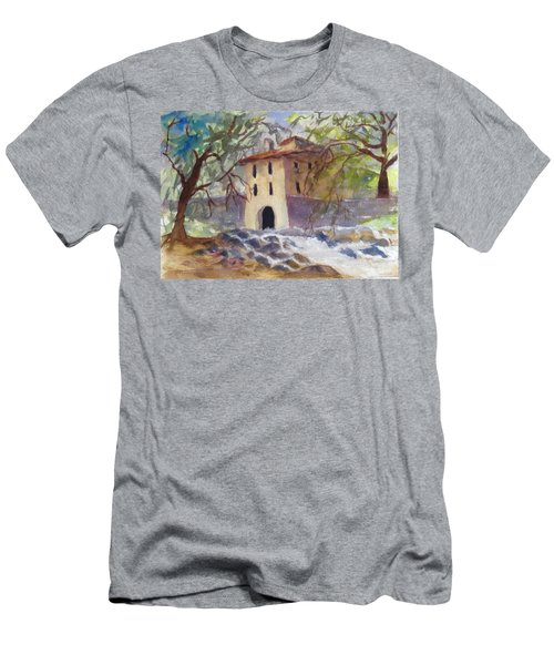 Down By The Old Mill Stream Men's T-Shirt (Athletic Fit)
