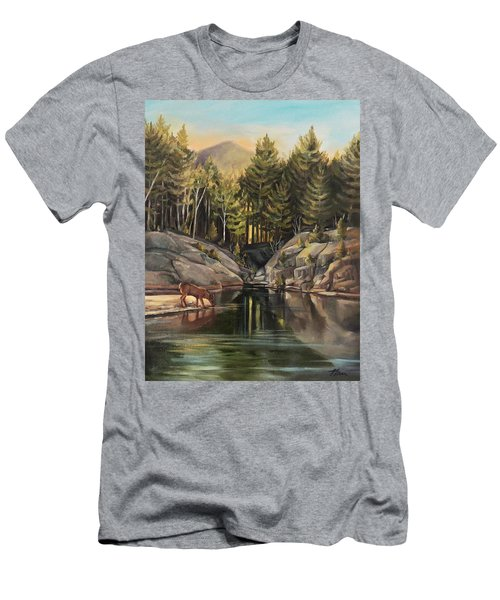 Down By The Pemigewasset River Men's T-Shirt (Athletic Fit)