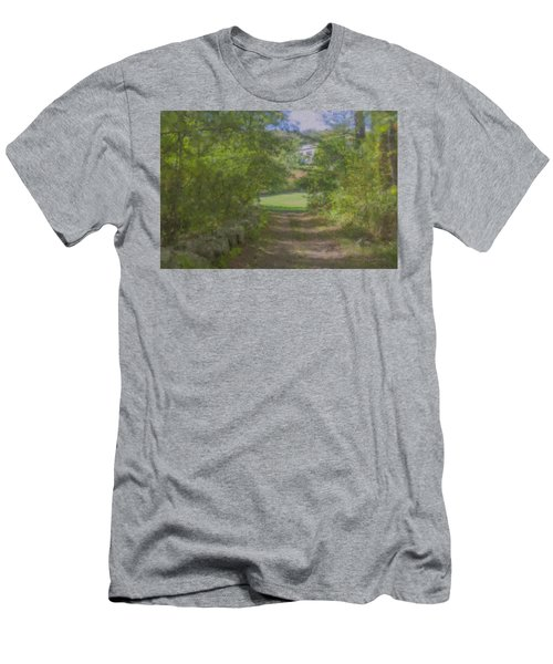 Down From The Mansion Men's T-Shirt (Athletic Fit)