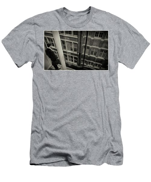 Men's T-Shirt (Athletic Fit) featuring the photograph Down by Stewart Marsden
